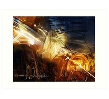 """""""Painted with Light"""" Art Print"""
