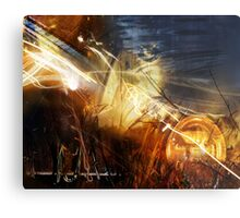 """Painted with Light"" Metal Print"