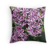 A New Breed Lilac Throw Pillow