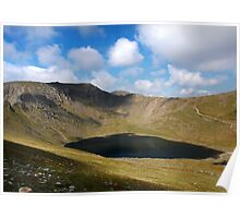 Helvellyn and Red Tarn Poster