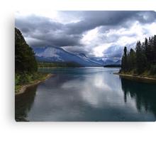 Beautiful Lake Maligne Canvas Print