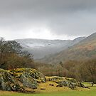 Fairfield Panorama, Cumbria by Steve  Liptrot