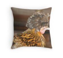 Fro Bird Throw Pillow