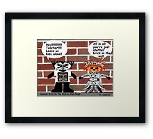 Another Brick In The Wall......Pink Floyd Framed Print