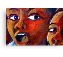 Amazed! Canvas Print