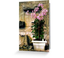 Decorative Flowers Greeting Card