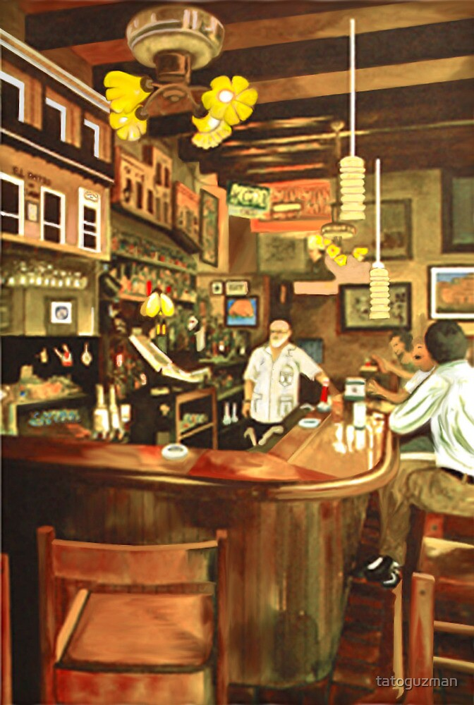 Patio de Sam's Bar-Lounge by tatoguzman