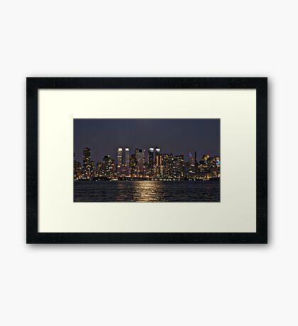 Across The Hudson Framed Print