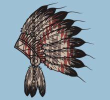 Native American Headdress Kids Tee