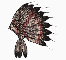 Native American Headdress One Piece - Long Sleeve