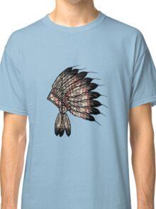Native American Headdress Classic T-Shirt