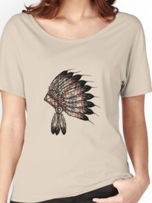 Native American Headdress Women's Relaxed Fit T-Shirt