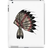 Native American Headdress iPad Case/Skin