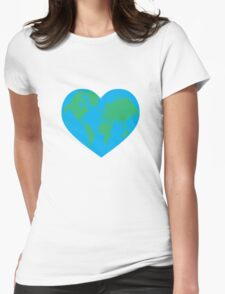 Earth Love Womens Fitted T-Shirt