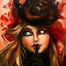 Crimson Flower by emkotoul