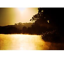 Sunrise near Mannum Photographic Print