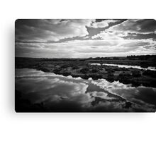 Maidment Lagoon near Bowhill Canvas Print