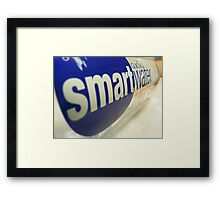 Smart Water? Framed Print