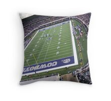 cowboys staduim Throw Pillow