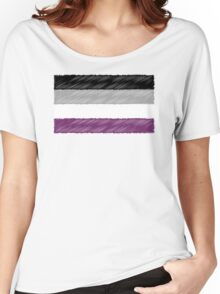 Ace Scribble Flag Women's Relaxed Fit T-Shirt