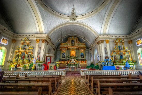 St Joseph Cathedral - Altar by Yhun Suarez
