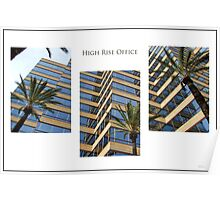 High Rise Office Poster