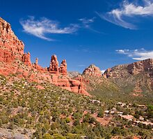 Red Rocks of Sedona, Arizona by Barb White
