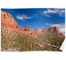 Red Rocks of Sedona, Arizona Poster