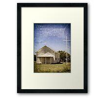 God Breathed Scripture Framed Print
