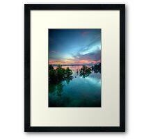 Boat Hangers Framed Print