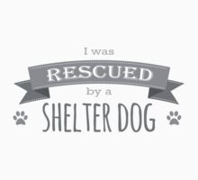 Shelter Dog Version One by hamsters