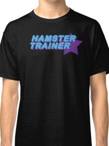 Hamster Trainer Blue/Purple Classic T-Shirt