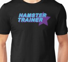 Hamster Trainer Blue/Purple Unisex T-Shirt