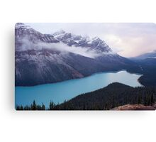 Blue Beyond Belief Canvas Print