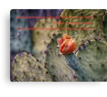 Loving Someone Canvas Print