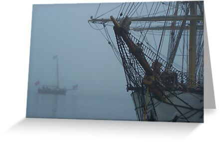 Through The Mist by Mike  MacNeil
