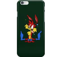 Jazz SpazRabbit iPhone Case/Skin