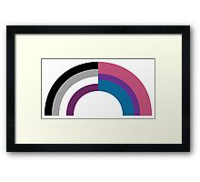 Bi-asexual Framed Print