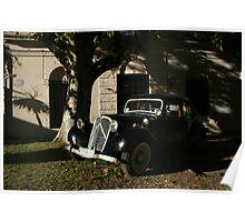 Old car Colonia del Sacramento - Uruguay Poster