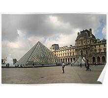 La Musée du Louvre Poster