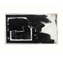 b(l)ack in halifax Art Print