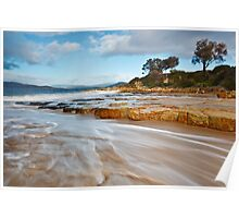 Johns Point, Fort Beach, South Arm Poster