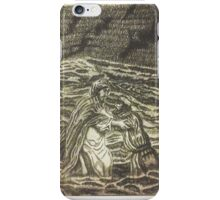 Peter Took His Eye Off Of Jesus And Started To Sink iPhone Case/Skin