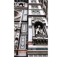 The Facade of St. Mary's Cathedral, Florence Photographic Print