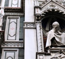 The Facade of St. Mary's Cathedral, Florence Sticker