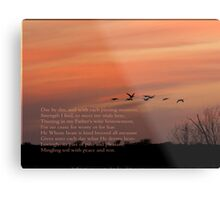 Day by Day Metal Print