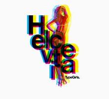 Helvetica TypeGirl Unisex T-Shirt
