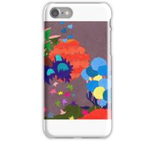 Rainbow City with Gray Sky iPhone Case/Skin