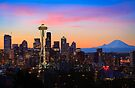 Seattle Dawn by Inge Johnsson