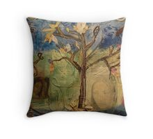 And Still She Thanked Him Throw Pillow